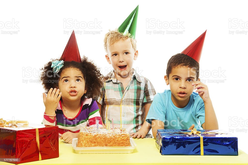Is birthday party over already? royalty-free stock photo
