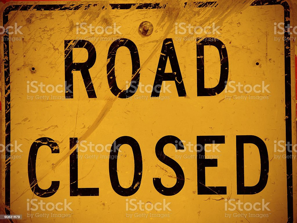 is closed royalty-free stock photo