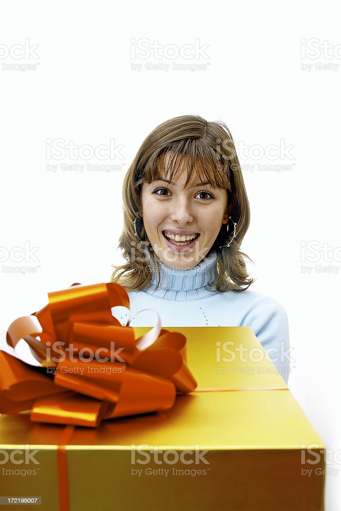 Is it for me? stock photo