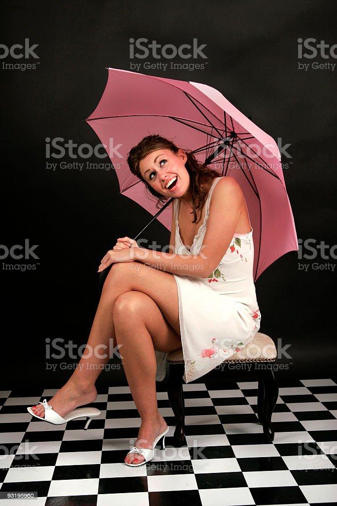 Is it raining? stock photo
