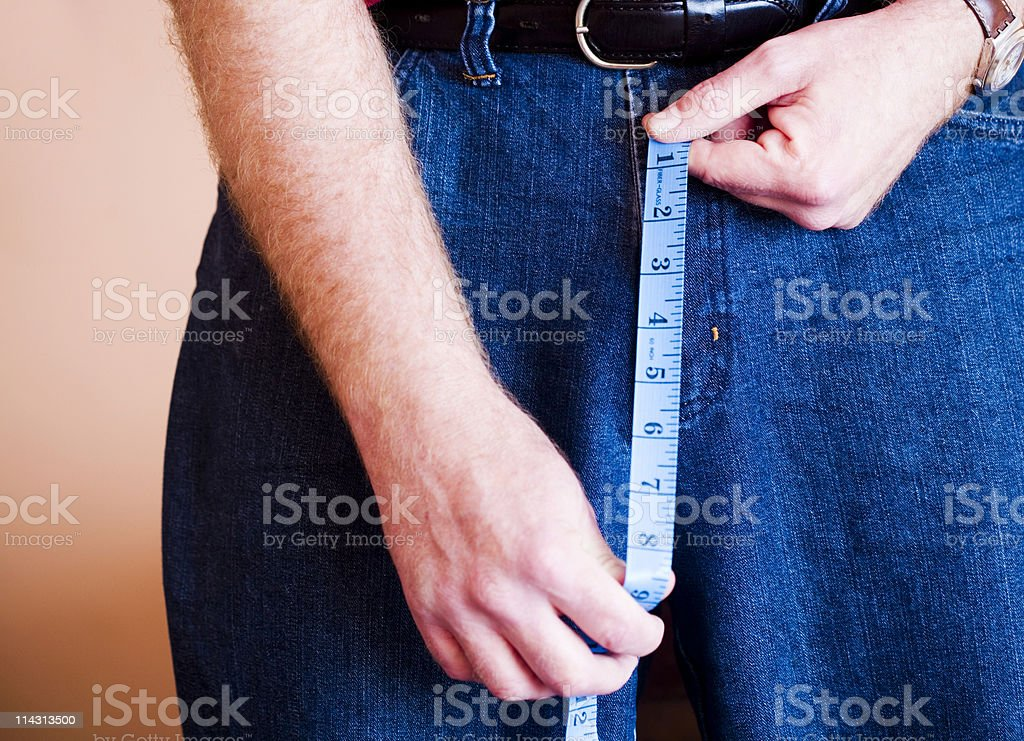Is it too big? stock photo