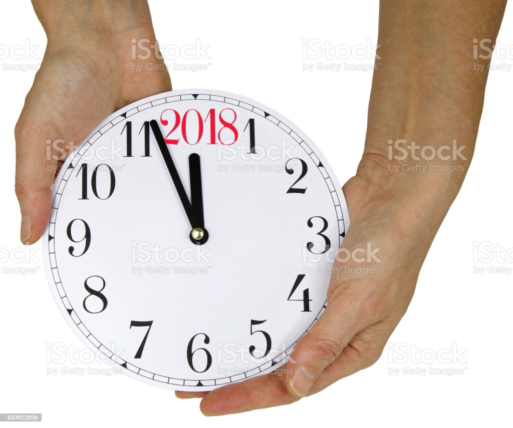 2018 is Nearly Here stock photo