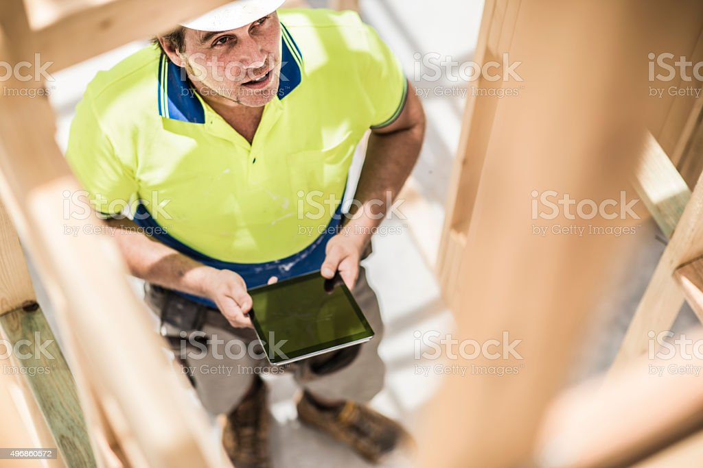 Is the construction in progress? stock photo