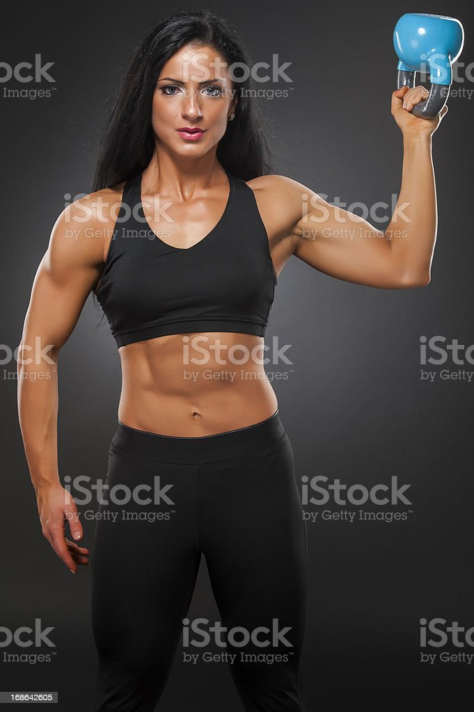 STRONG is the new SEXY royalty-free stock photo