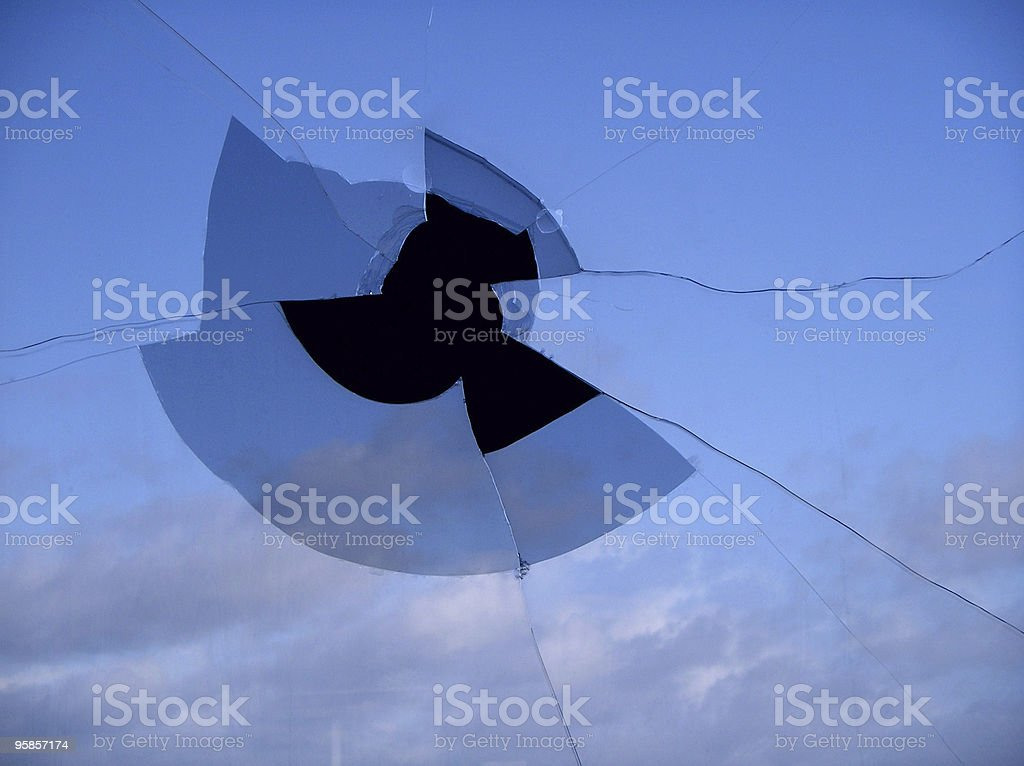 Is there a hole in the sky? stock photo