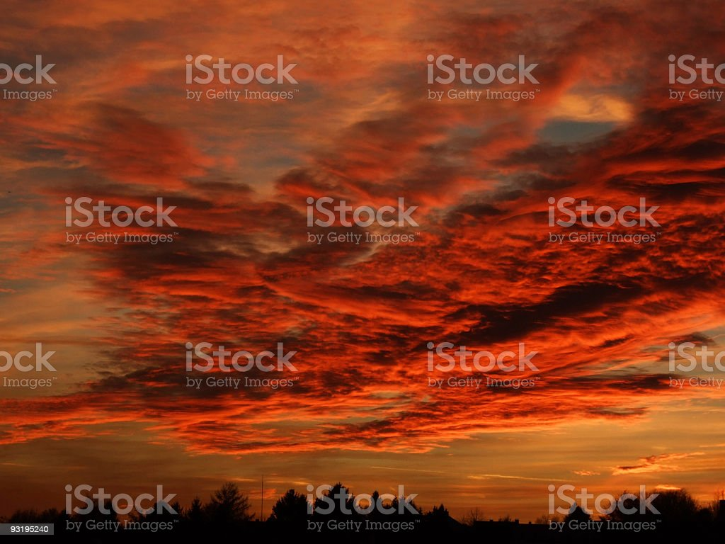 Is this Heaven or Hell? royalty-free stock photo