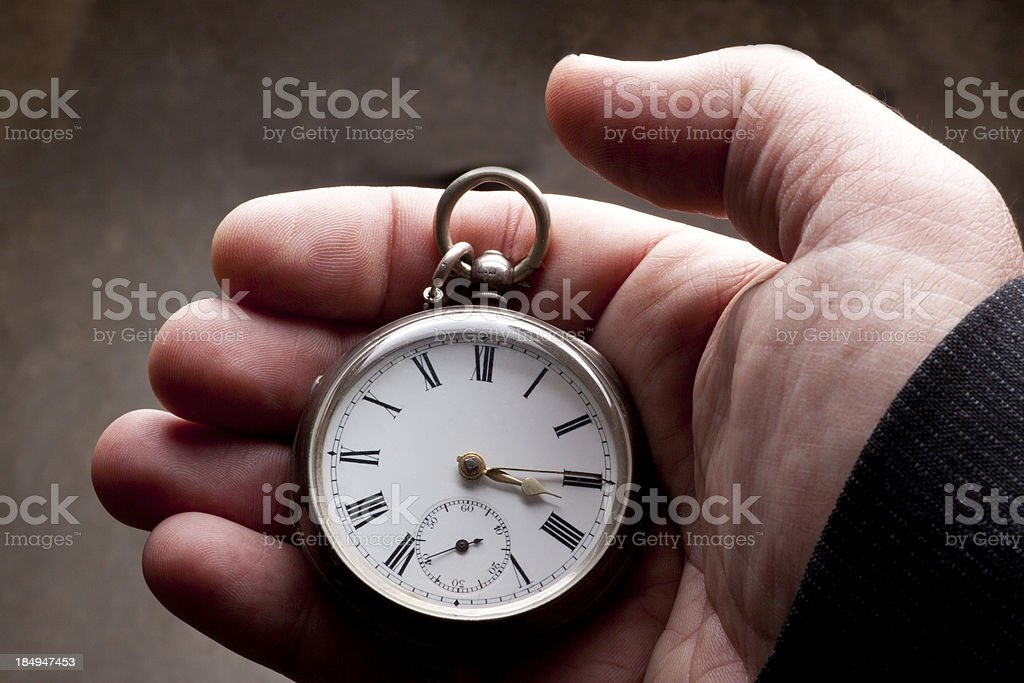 Is Time royalty-free stock photo