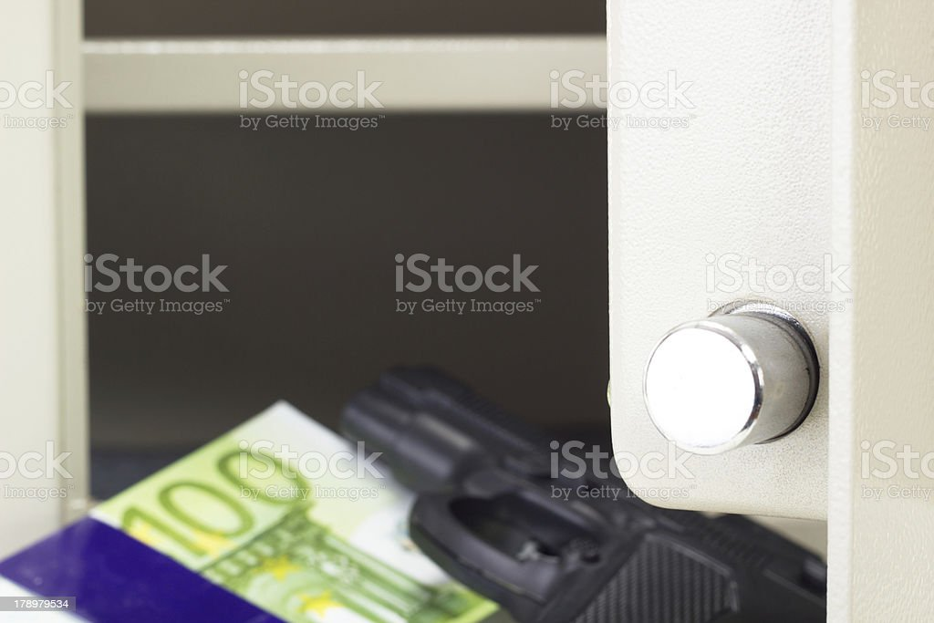 Is your locker safe from thieves? royalty-free stock photo