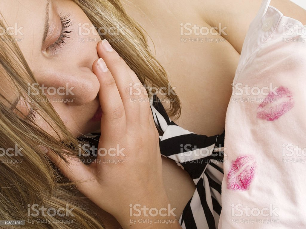 Is your man unfaithful? stock photo