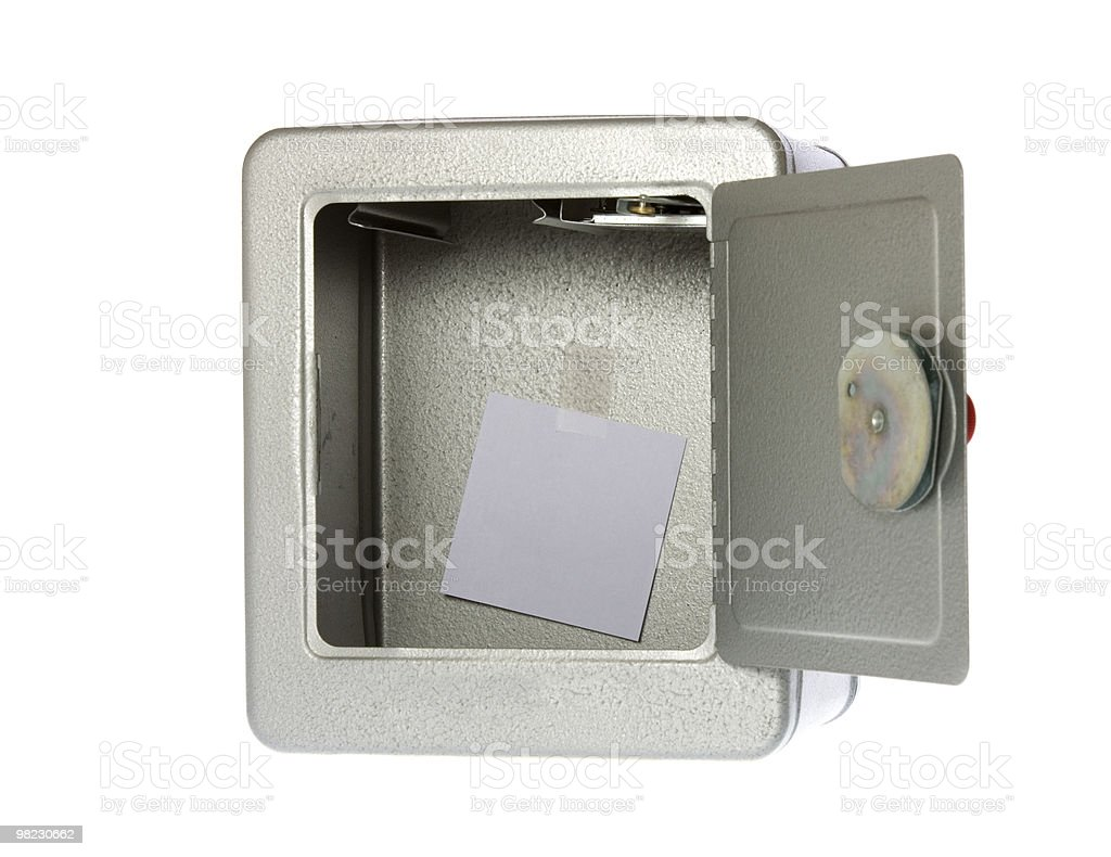 Is Your Money Safe? royalty-free stock photo