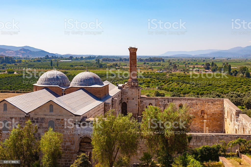 Isabey Mosque stock photo
