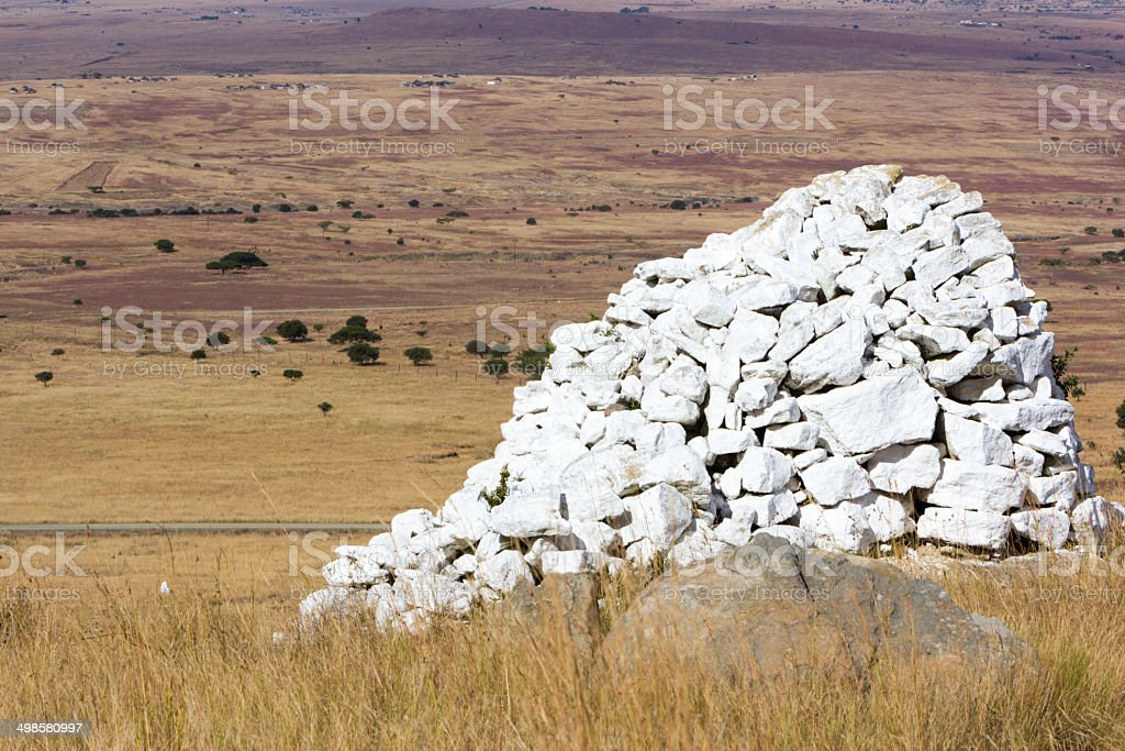 Isandlwana in KwaZulu-Natal, South Africa stock photo