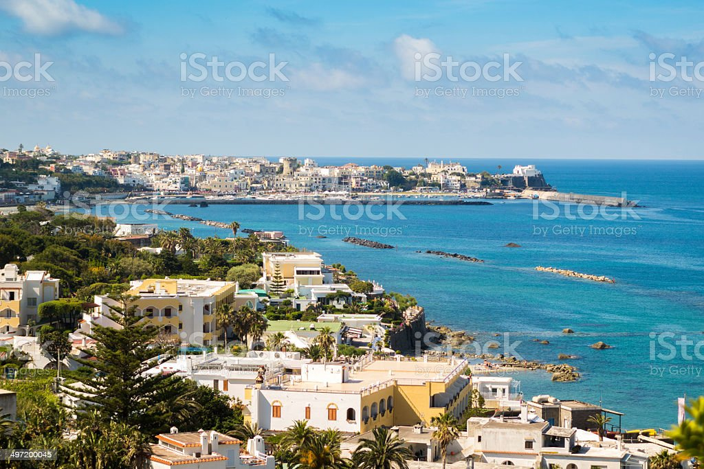 Ischia, Bay of Naples stock photo