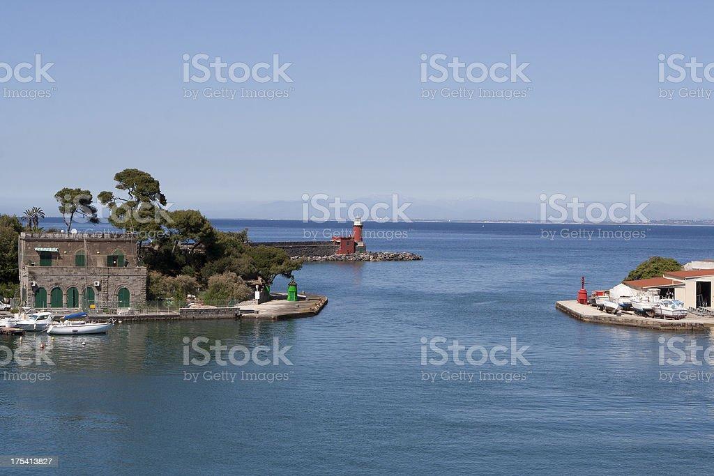 Ischia Ponte, Campania, Italy royalty-free stock photo