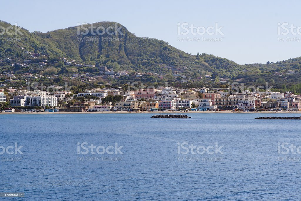 Ischia Ponte, Campania, Italy royalty-free stock photo
