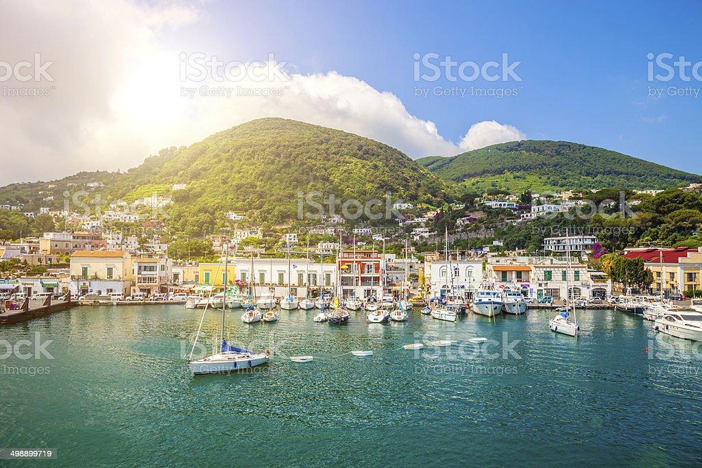 Ischia Porto royalty-free stock photo