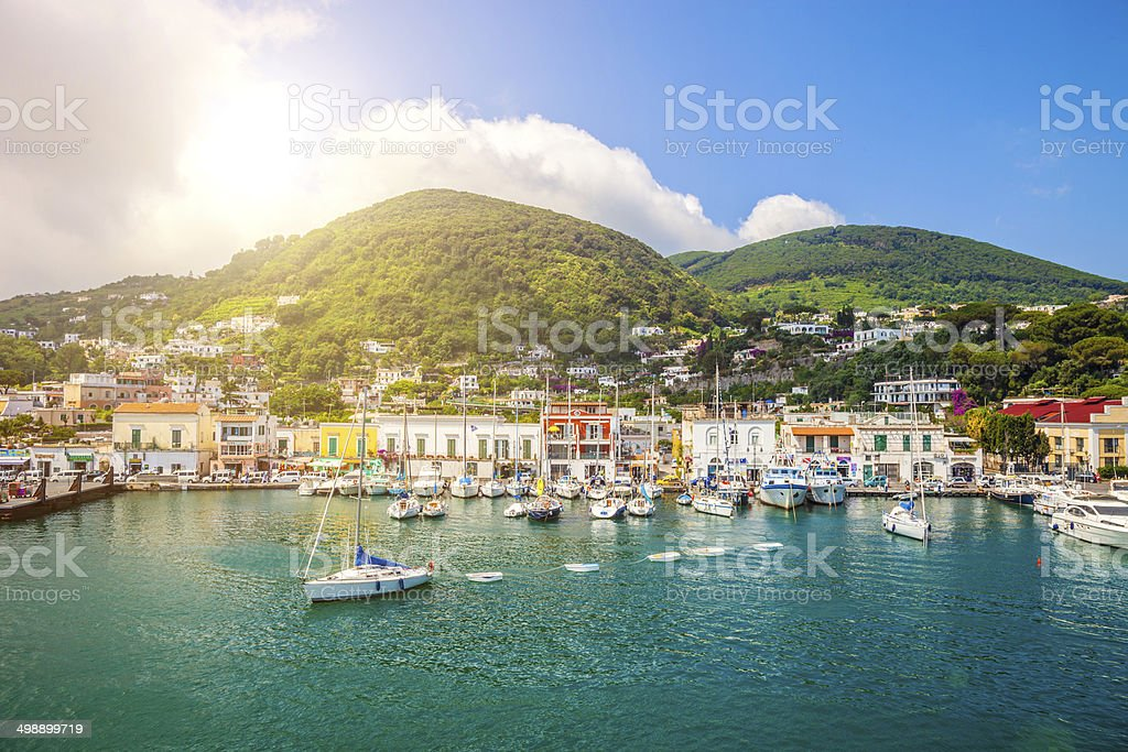 Ischia Porto stock photo