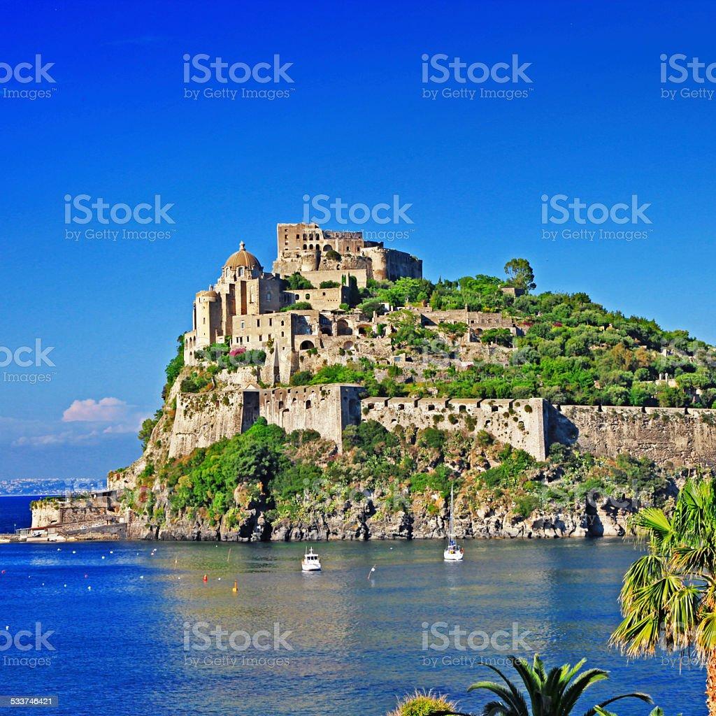 Ischia,Italian island stock photo