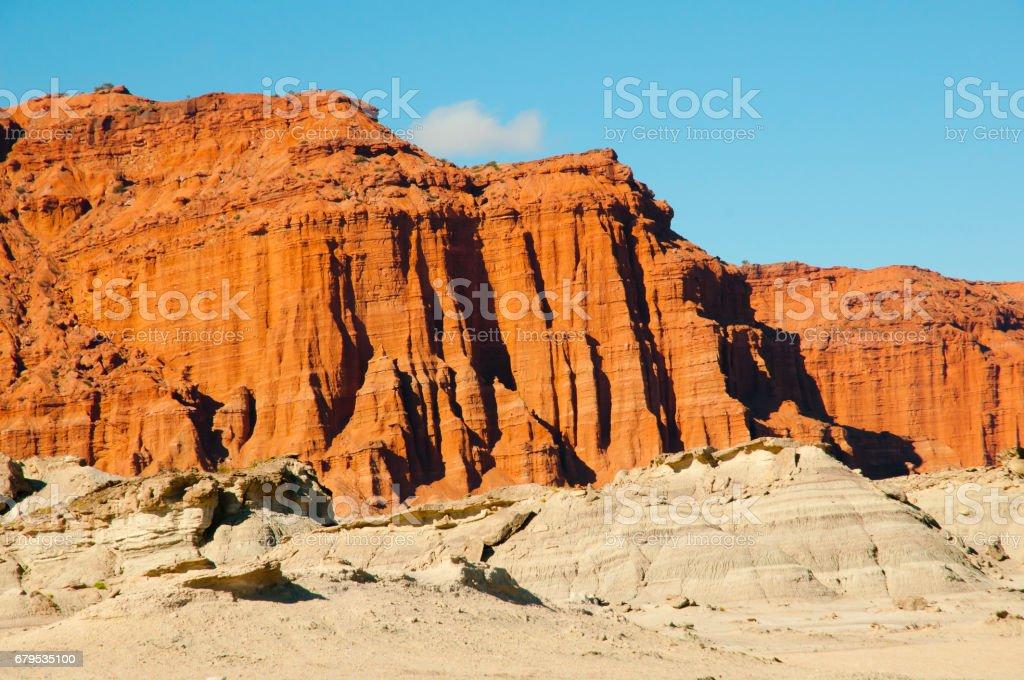 Ischigualasto Provincial Park - Argentina stock photo