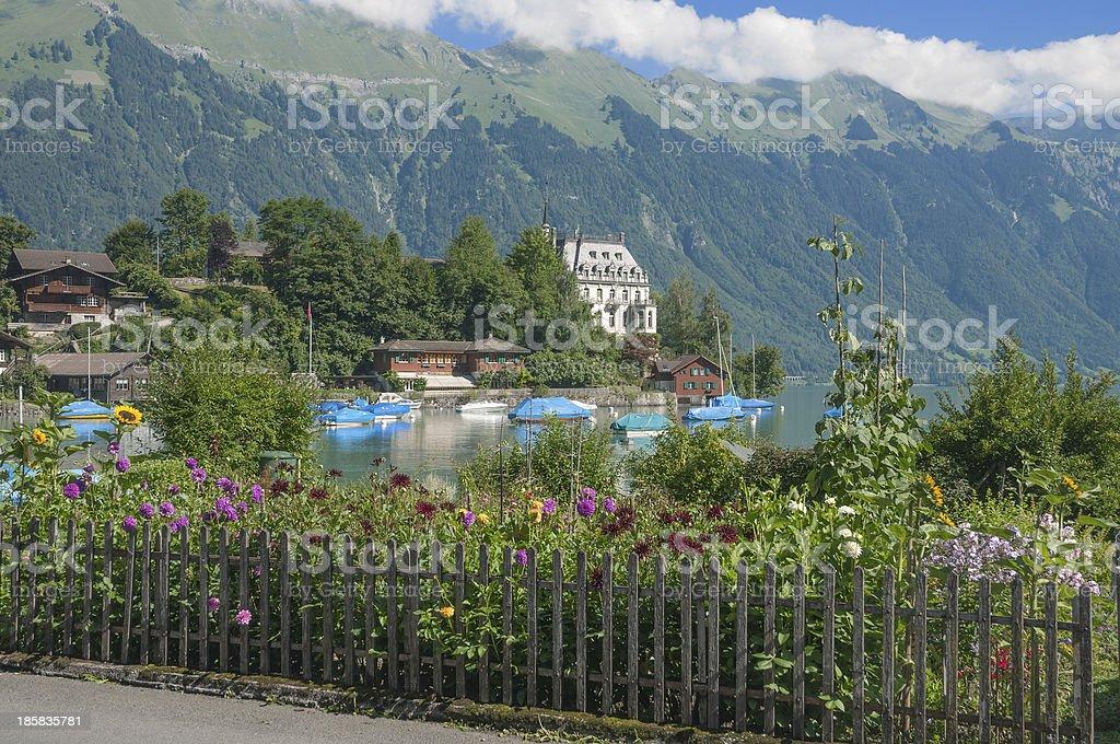 Iseltwald,Lake Brienz,Switzerland royalty-free stock photo