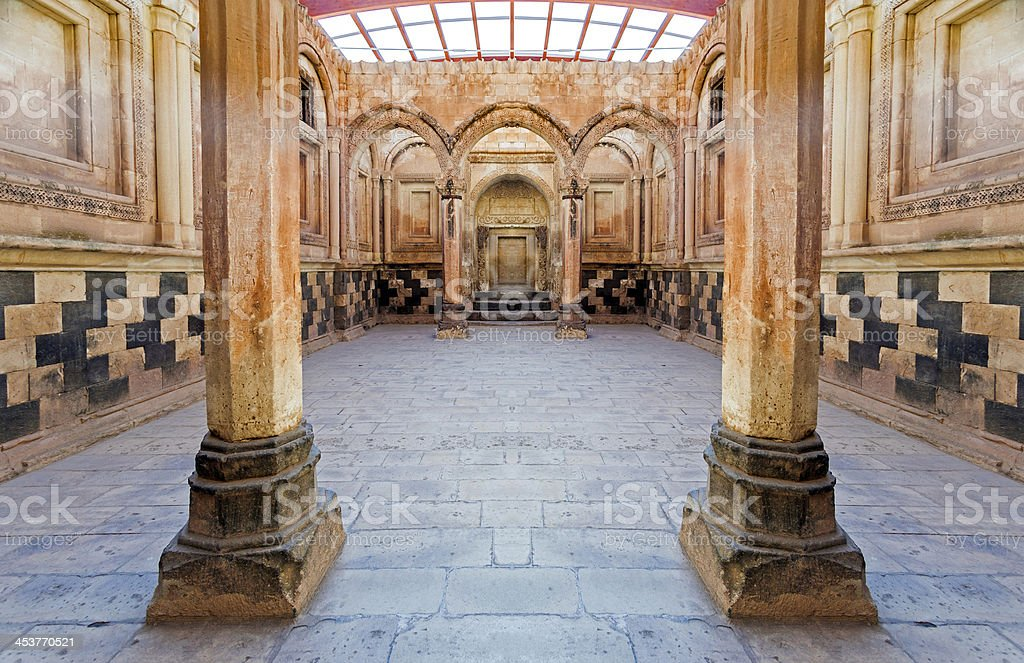 Ishak Pasa Palace stock photo