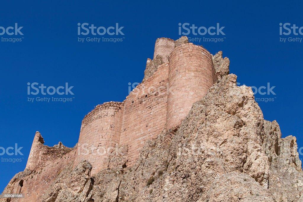 Ishak Pasha Palace Castle. stock photo