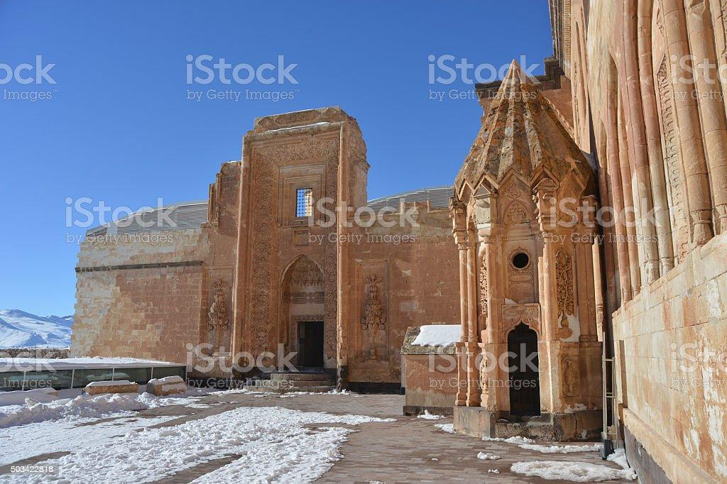 Ishak Pasha Palace - fragment stock photo