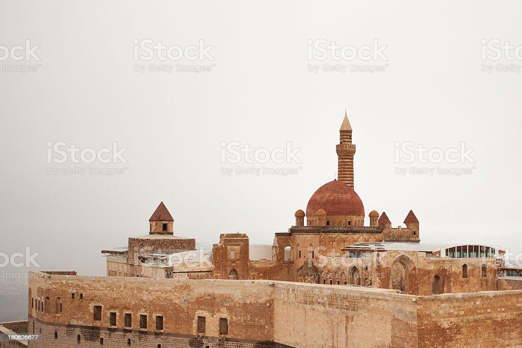 Ishak Pasha Palace stock photo