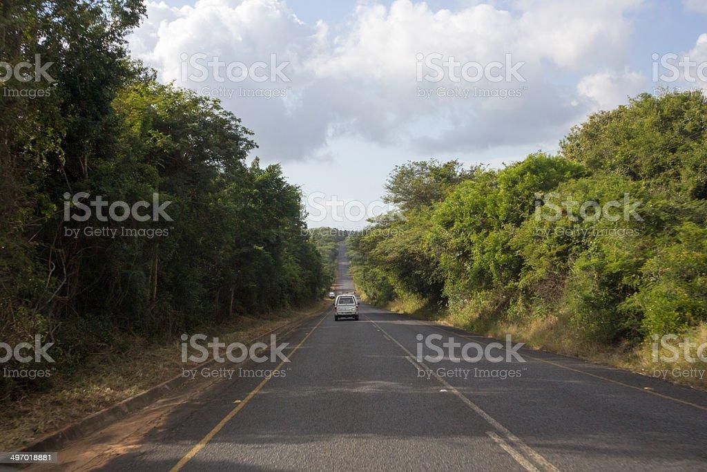 iSimangaliso Wetland Park in KwaZulu-Natal, South Africa royalty-free stock photo