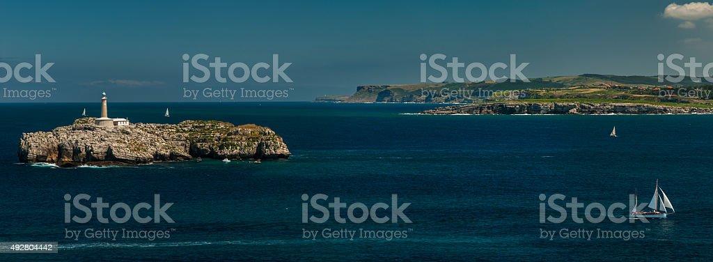 Isla de Mouro stock photo