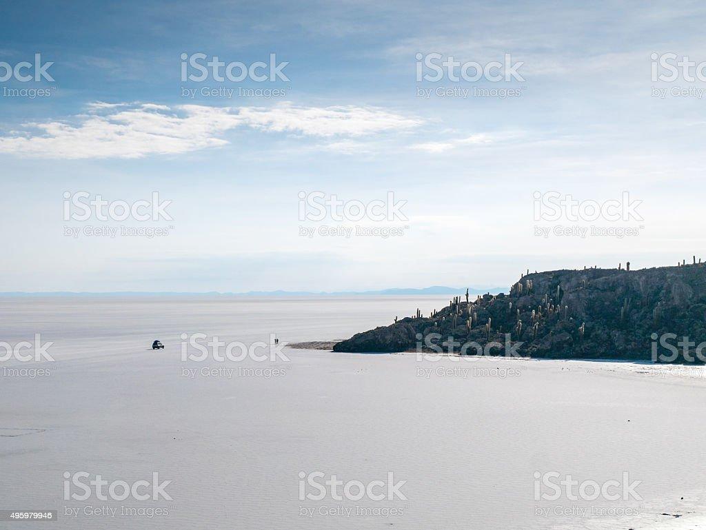 Isla del Pescado royalty-free stock photo
