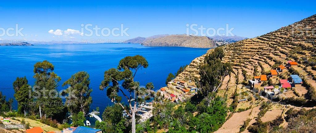 Isla del Sol stock photo