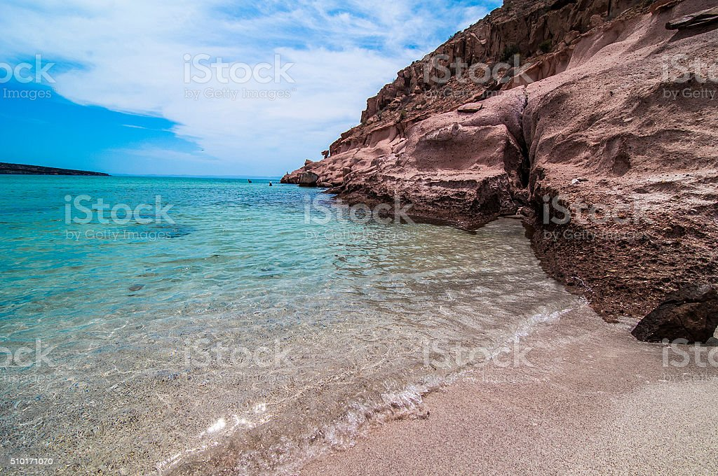Isla Espiritu Santo stock photo