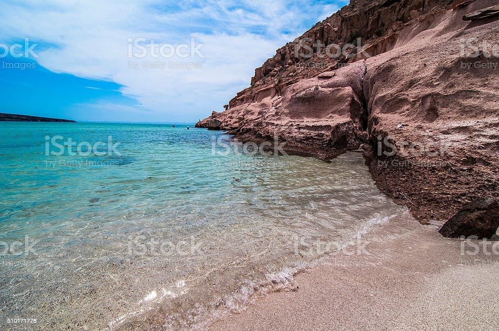 isla espiritu snto stock photo