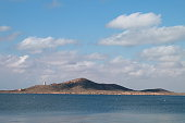 Isla Mayor or Del Baron, in the Mar Menor, Spain