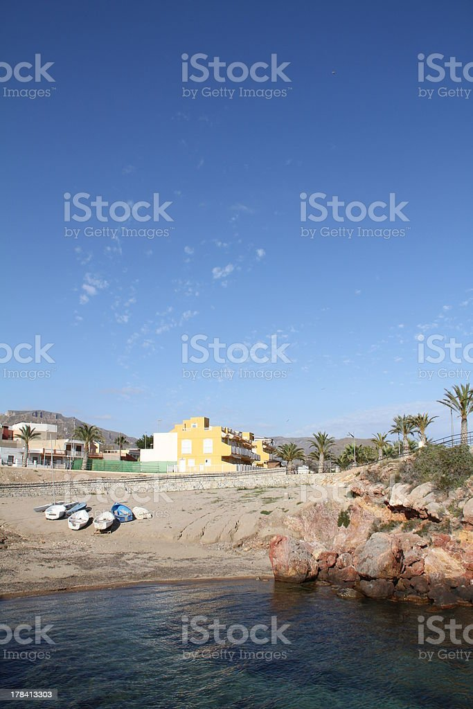 Isla Plana stock photo
