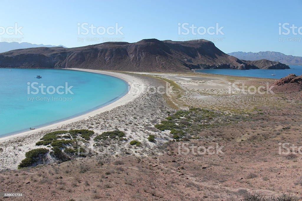 Isla San Francisco, Baja CAlifornia Sur, Mexico stock photo