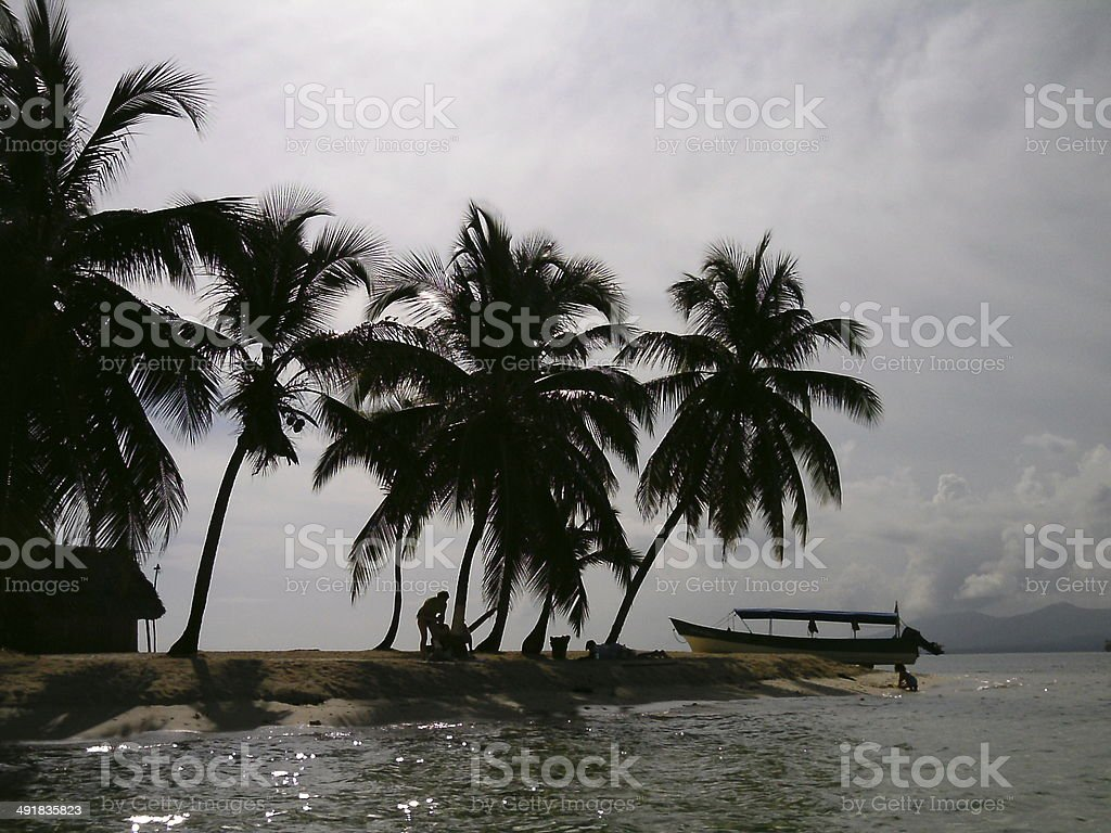isla senidup stock photo