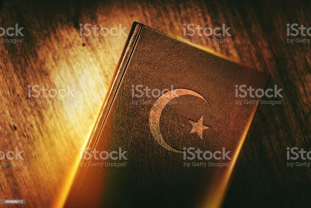 Islam Concept Book stock photo