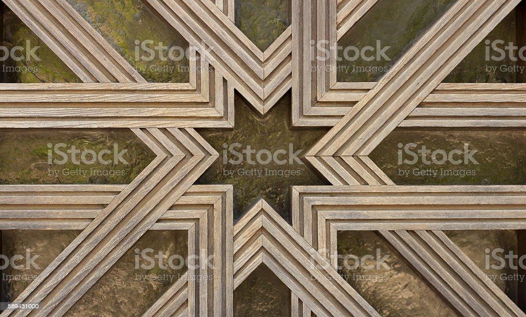 islam geometry detail stock photo