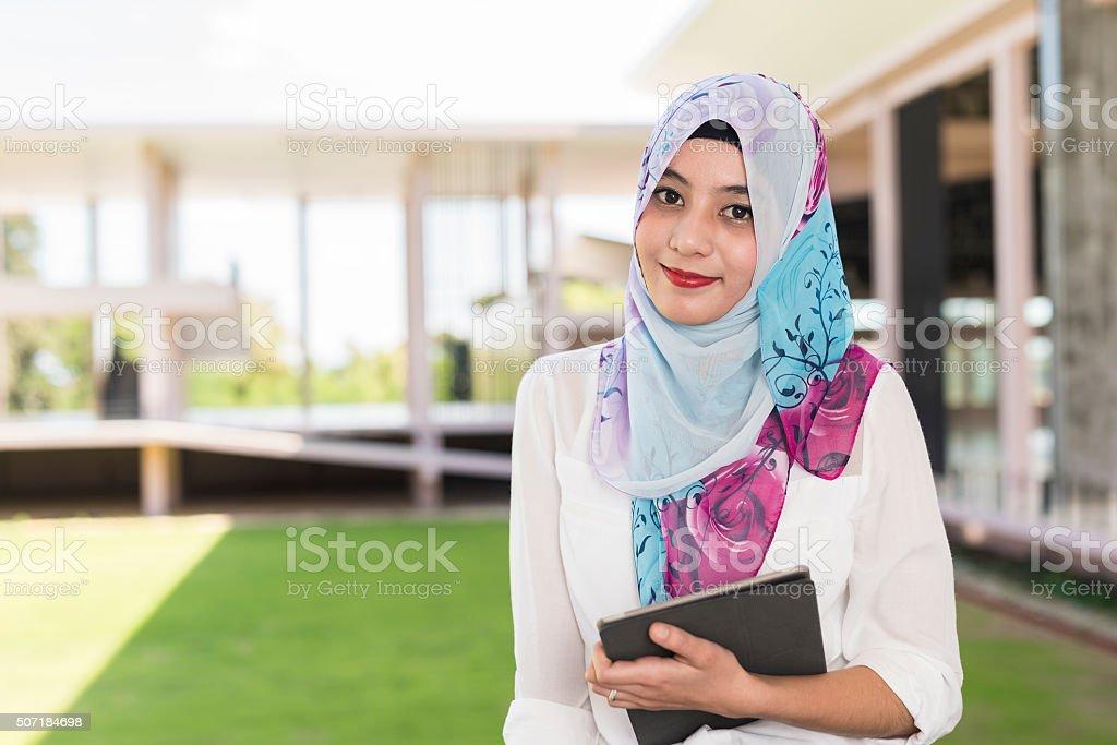 islam woman stock photo
