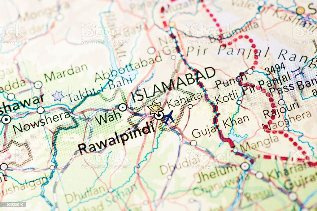 Islamabad Pakistan stock photo