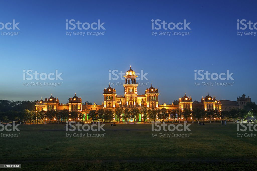 Islamia College Peshawar stock photo