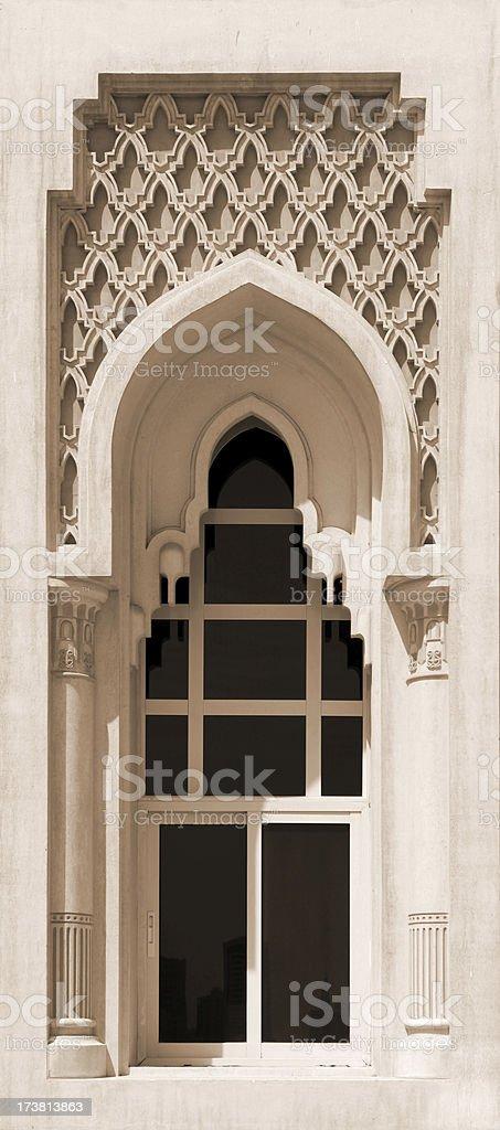 Islamic architecture elements royalty-free stock photo