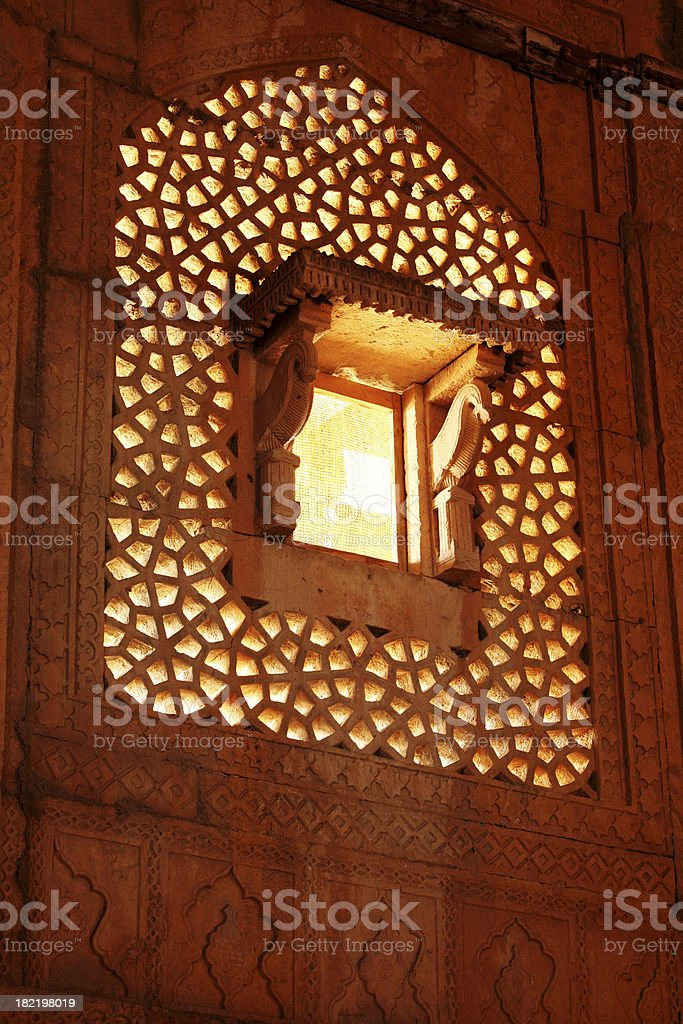Islamic Architecture in Sindh stock photo