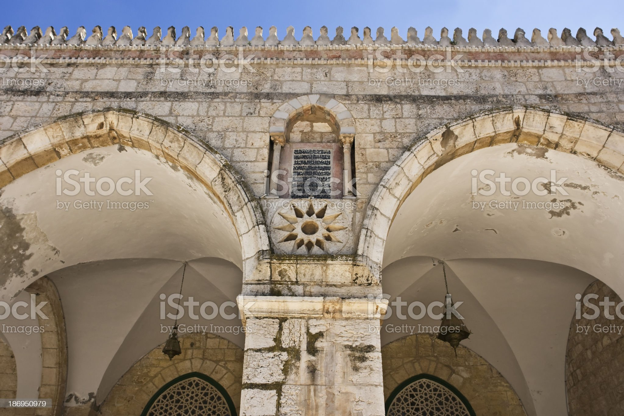 Islamic architecture royalty-free stock photo
