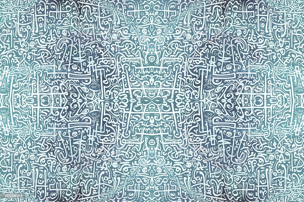 Islamic Art royalty-free stock photo