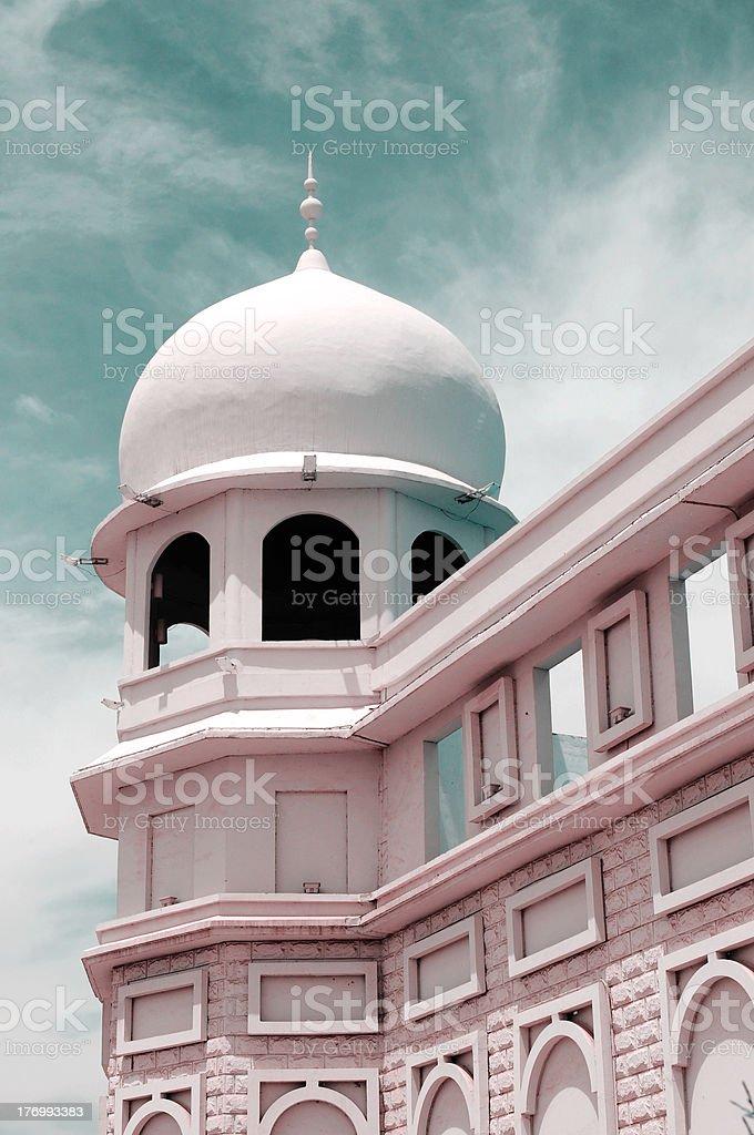 Islamic building royalty-free stock photo
