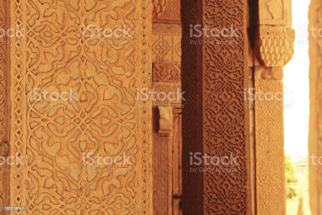 Islamic Craftsmanship stock photo