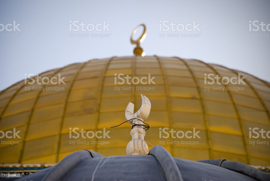 Islamic Crescent royalty-free stock photo